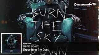 Emma Hewitt - These Days Are Ours  (Burn The Sky Down album preview)