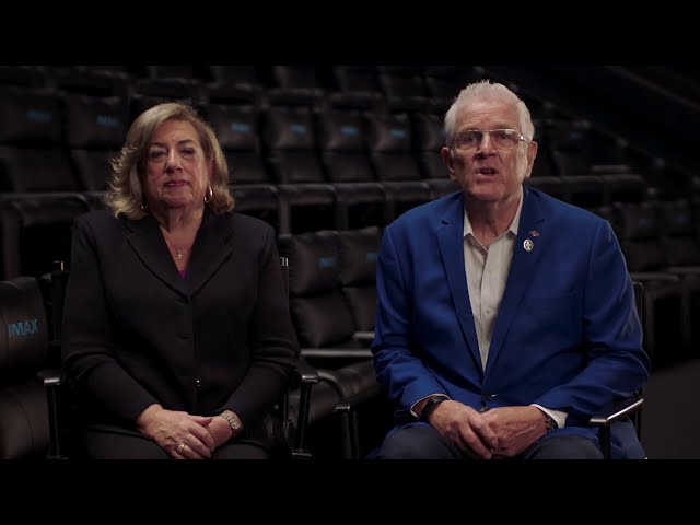 Message from IMAX's Chief Quality Gurus David and Patricia Keighley