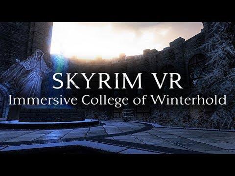 Skyrim VR: Immersive College of Winterhold Mod