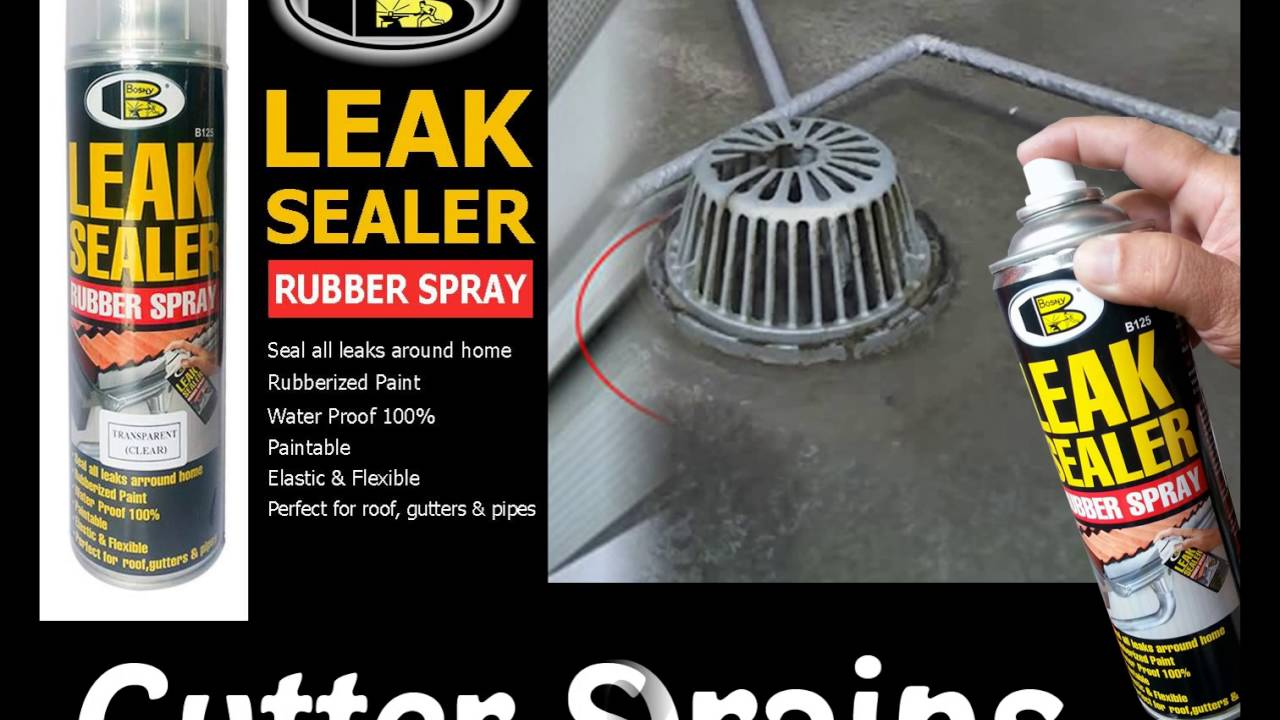 Bosny Leak Sealer Spray