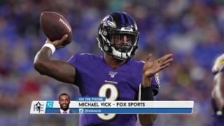 FOX Sports' Michael Vick on Comparisons to Lamar Jackson  | The Rich Eisen Show | 10/16/19