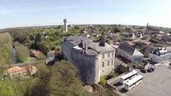 Couhé, une ville à la campagne (Poitou-Charentes - France)