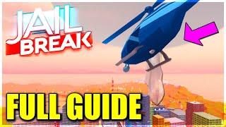 'FULL GUIDE' JAILBREAK HELI BOMB - NEW FIRETRUCK STATION UPDATEMD MAPLESTICK SECRETS (ROBLOX)