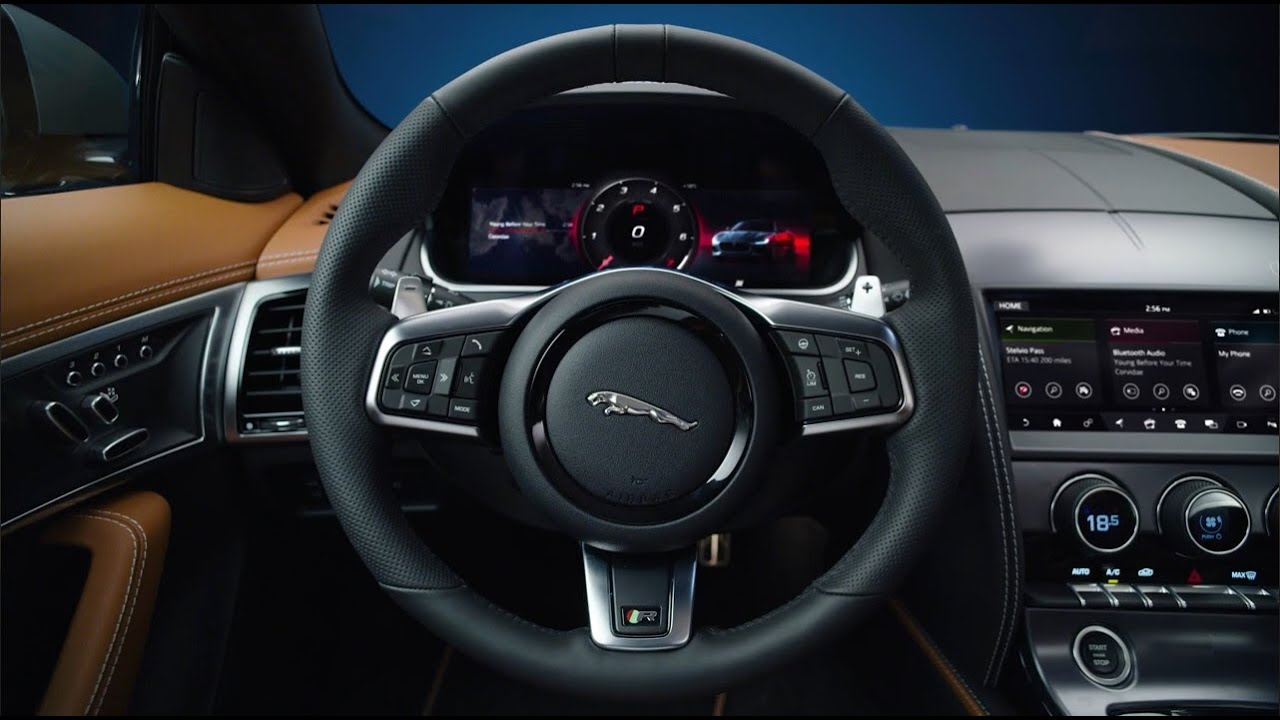 jaguar f-type interior 2020