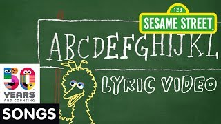 Sesame Street: ABC-DEF-GHI | Animated Lyric Video