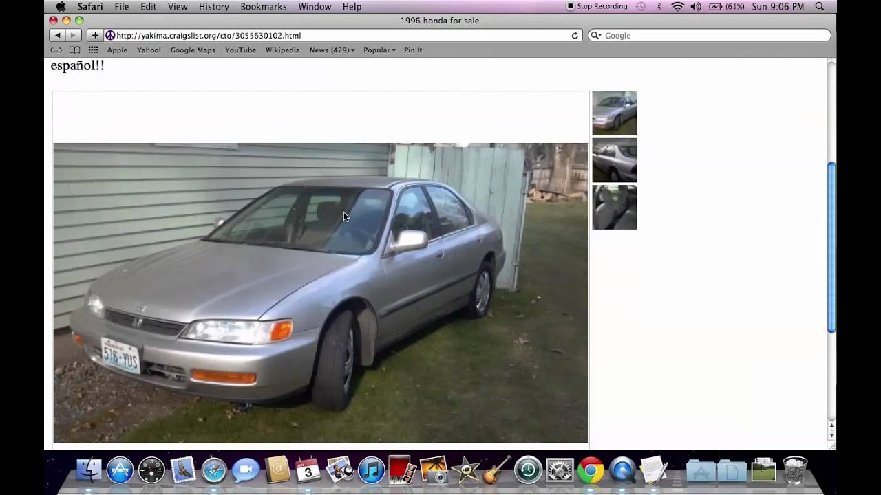 Craigslist Yakima Used Cars And Trucks For Sale By Owner