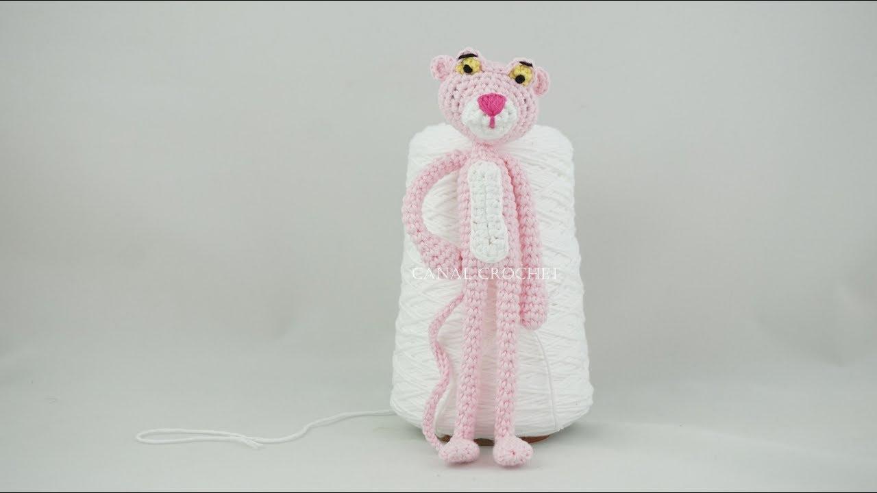 Pantera Rosa Amigurumi   How to crochet a Pink Panther Amigurumi ...   720x1280