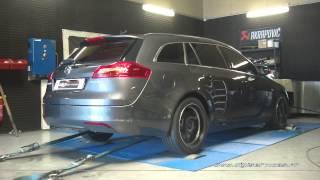 Reprogrammation Moteur Opel Insignia cdti 130cv @ 197cv Digiservices Paris 77 Dyno