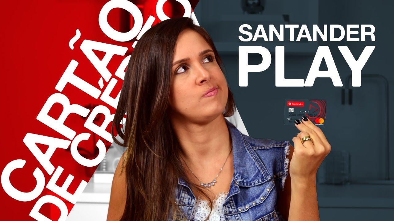 Artesanato Indigena Comprar ~ Cart u00e3o de crédito Santander Play Vale a pena ter um