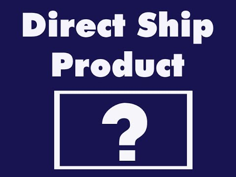 Direct ship Items