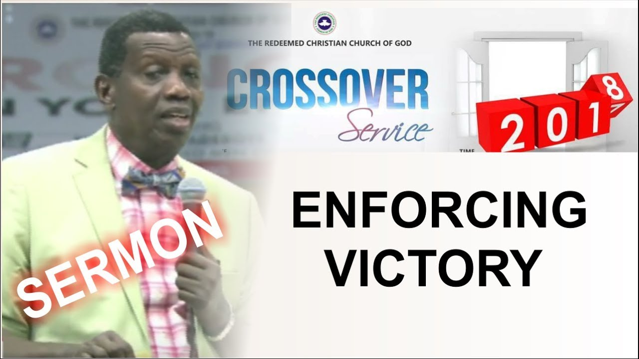 Download Pastor E.A Adeboye POWERFUL Sermon_ ENFORCING VICTORY