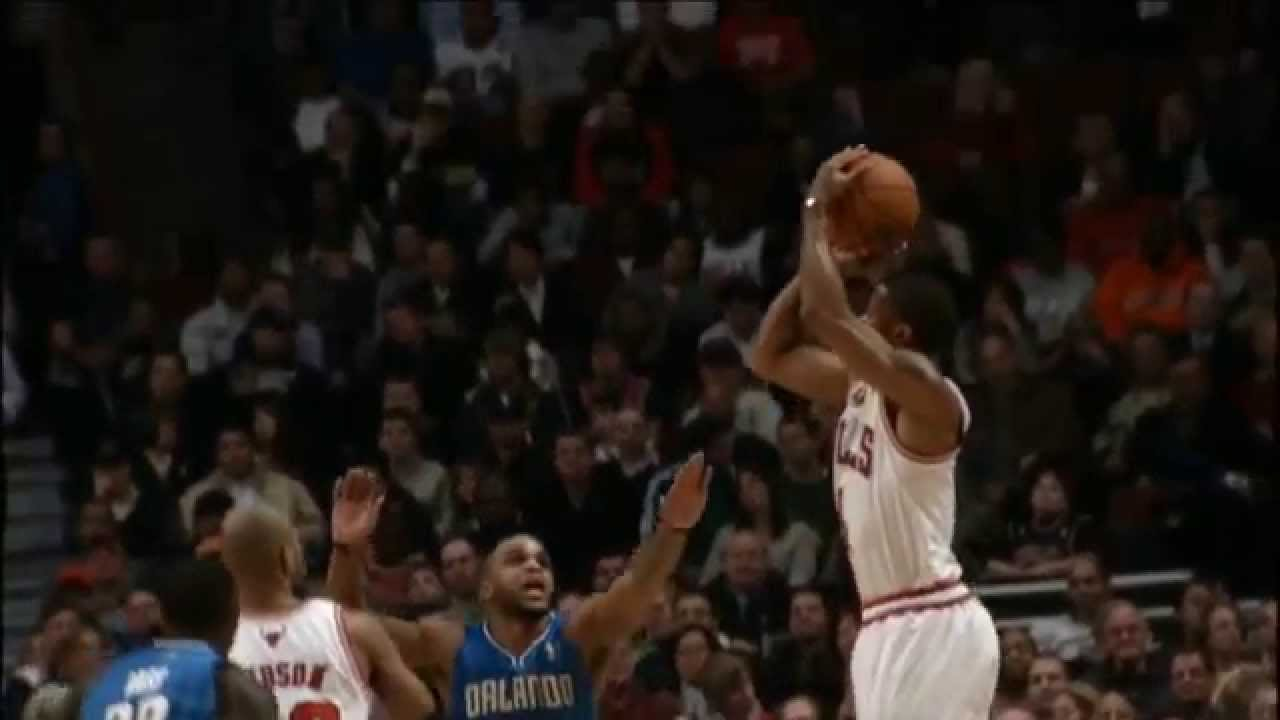 a9aa2a7b020 Derrick Rose Shooting Form - YouTube