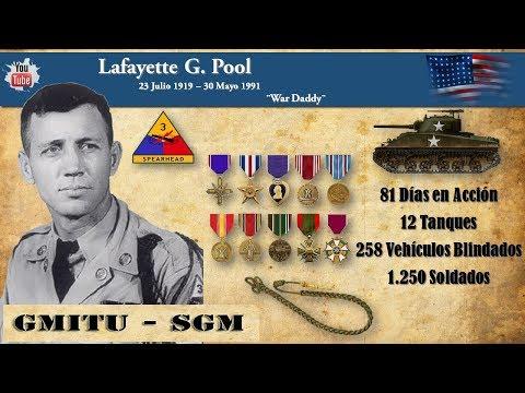 Lafayette G. Pool - Comandante de Sherman