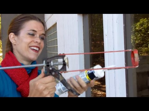 Caulking Your Windows - Things Even a Monkey Should Know