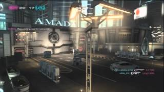 Binary Domain, Team Deathmatch: DLC map - Outside High Rise, Upper City; (Round 2)