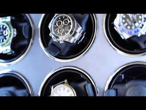 東暉國際代理 Rapport Paramount 9 英國瑞伯特手錶自動上鍊盒收藏櫃防磁設計電子指紋鎖LED燈電子式轉速