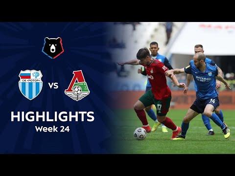 R. Volgograd Lokomotiv Moscow Goals And Highlights