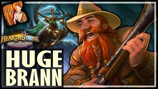 THE BIGGEST BRANN I EVER HAD! - Hearthstone Battlegrounds
