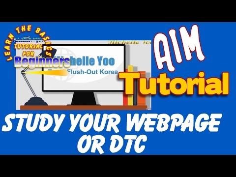 STUDY YOUR WEB PAGE or DTC- AIM GLOBAL(TAGALOG)
