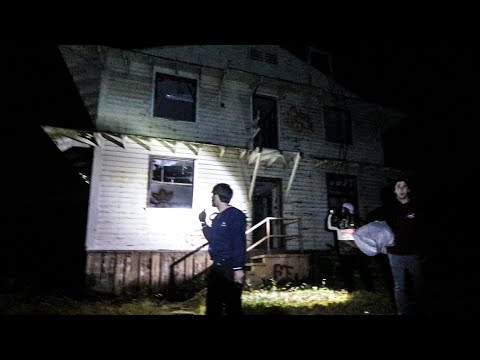 OVERNIGHT AT ABANDONED MILITARY BASE! (We were being followed)