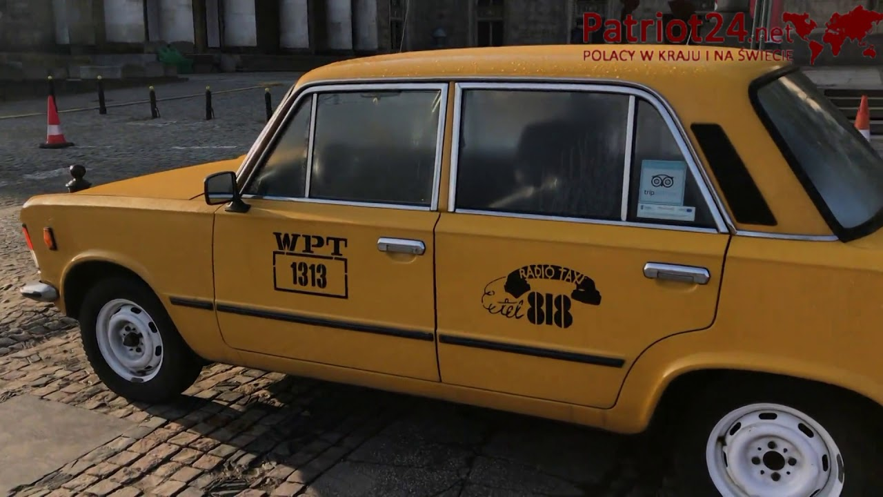 PATRIOT24 MOTO-TRANSPORT: Wypożycz Dużego Fiata 125p i śmigaj po Warszawie