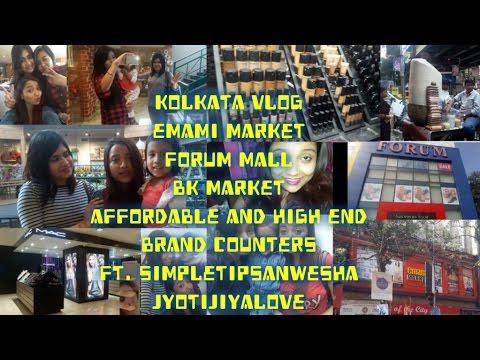 Kolkata Vlog| Forum |BK Market|Emami Mall| Street Shopping - Malls| Simpletipsanwesha|Jyotijiyalove