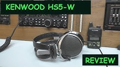 KENWOOD HS5:  Communication Headphones review