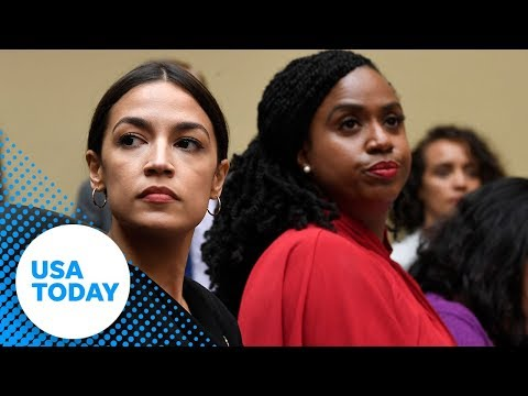 Congresswomen hold press conference in response to President Trump's comments | USA TODAY