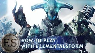 warframe how to play warframe mods gameplayps4twitch
