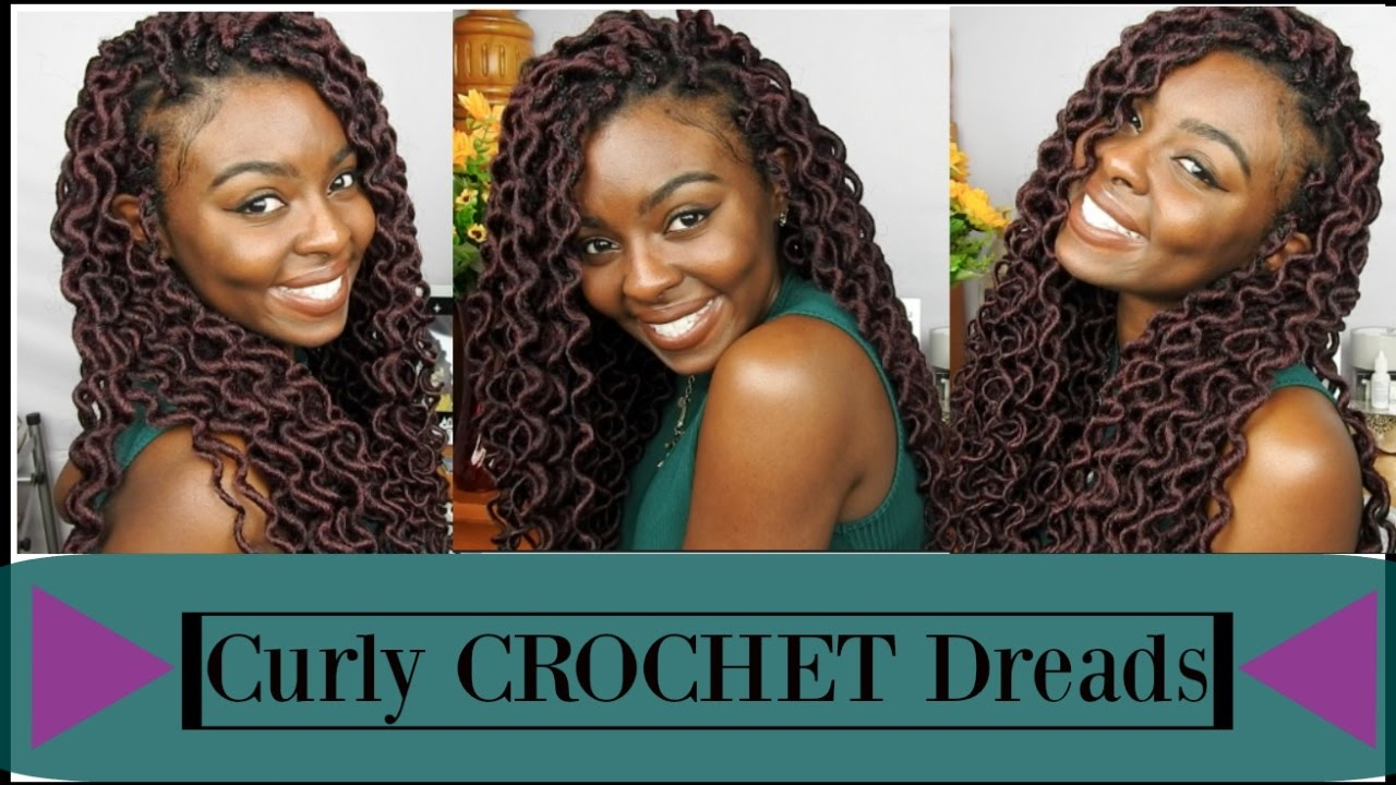 Curly Crochet Faux Locks Tutorial Quick And Easy Youtube
