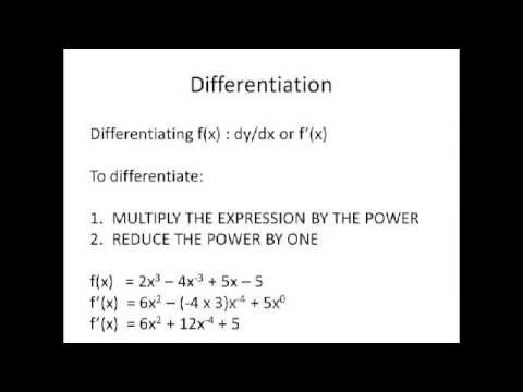 Maths AS Level Core 1 Revision Video