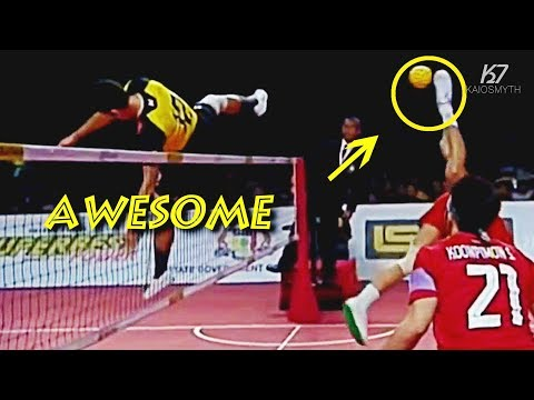 Sepak Takraw ● 5 Most Unexpected/Awesome Moments in Sepaktakraw | HD