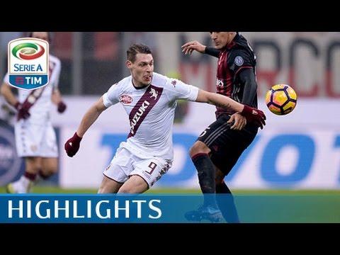 Milan - Torino - 2-1 - Highlights - Tim Cup 2016/17