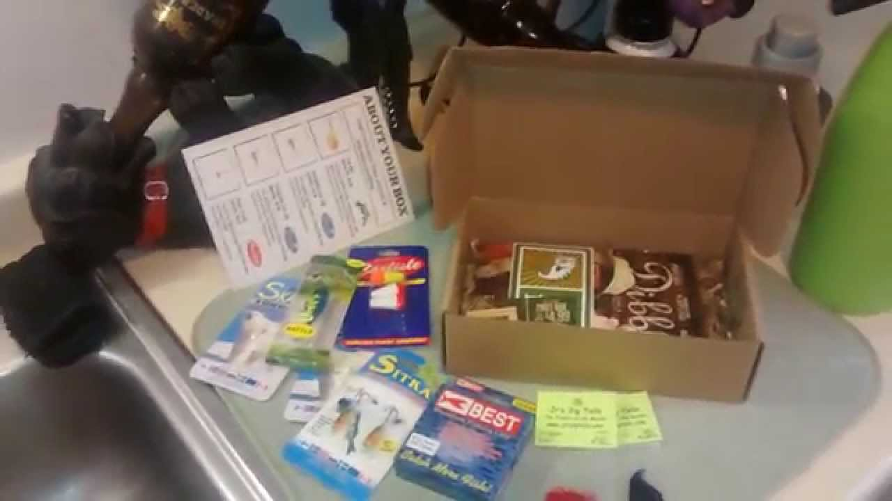 Ice fishing mystery tackle box january actually december for Fishing mystery box