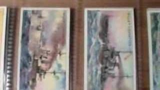 Pre WW1 Battleships Tobacco Cards, 1910