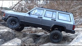 1/10 Scale RC │Blazer, Cherokee XJ, Rubicon JK x2 │Off Road Drive At Ooksu Valley
