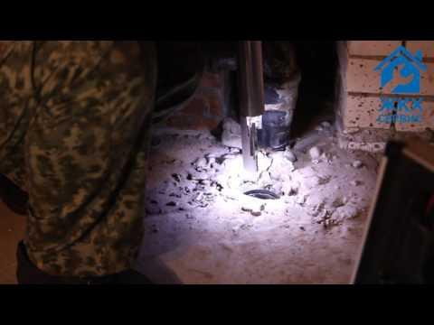 Установка заглушек на канализацию должникам ЖКХ в реальных условиях