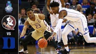 Florida State vs. Duke ACC Tournament Championship Highlights (2019)
