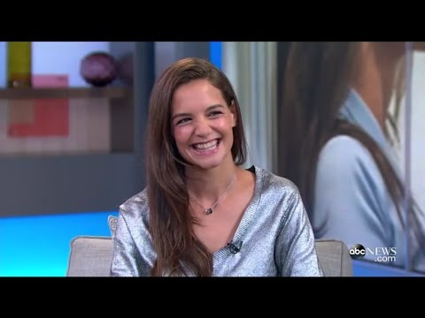 Katie Holmes interviewed on 'Good Morning America'