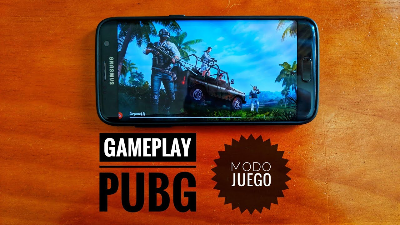 Pubg Wallpaper S7 Edge: Gameplay PUBG Mobile Samsung Galaxy S7 Edge En Modo Juego