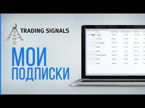 Отчет о подписках на торговые сигналы в MetaTrader 4/5
