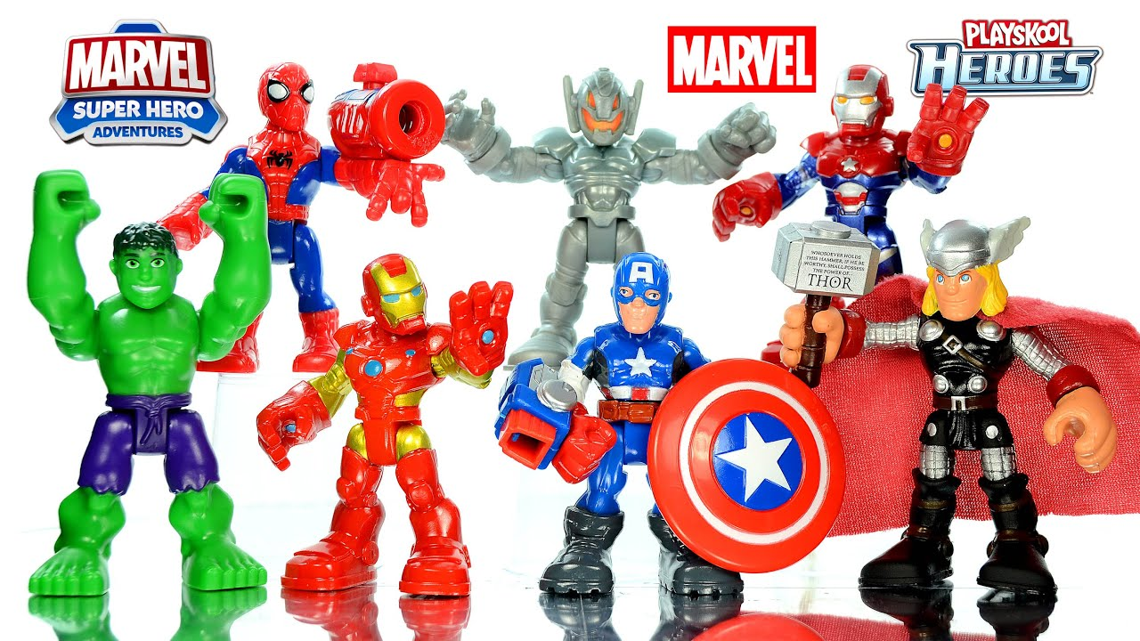 The Avengers Age Of Ultron Playskool Heroes Marvel Super