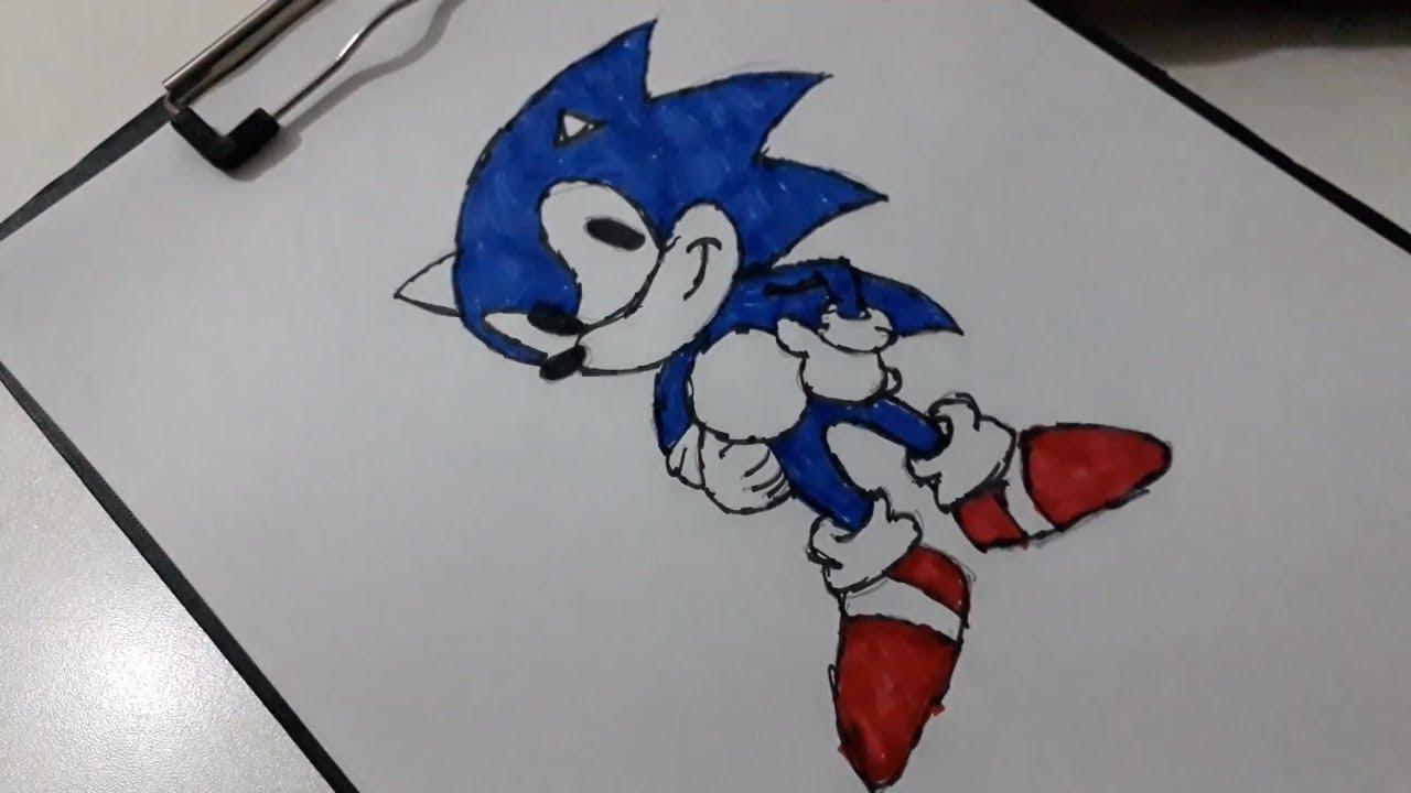 Sonic Boyama Coloring Sonic Youtube