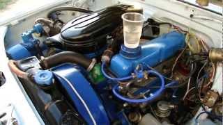 ГАЗ-24. Мотор 24Д. Комплексная балансировка.MP4