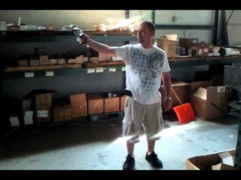 Blank Revolver Firing With 9MM PAK Blanks - Funny Reaction While Testing