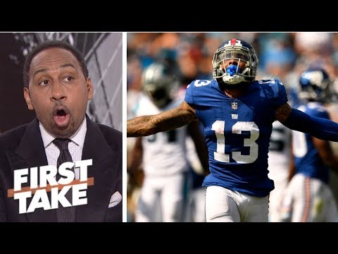 Stephen A. can't condone Odell Beckham Jr.'s critical comments about Giants' teammates | First Take