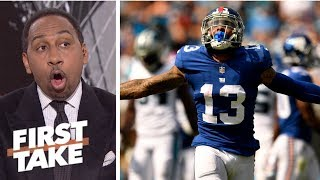 Stephen A. can't condone Odell Beckham Jr.'s critical comments about Giants' teammates | First Take thumbnail