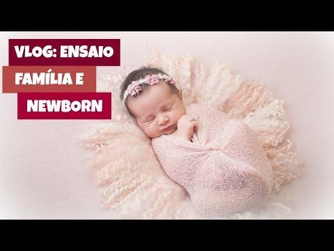 Vlog: Ensaio Fotográfico Família e Newborn | Mães Atuais