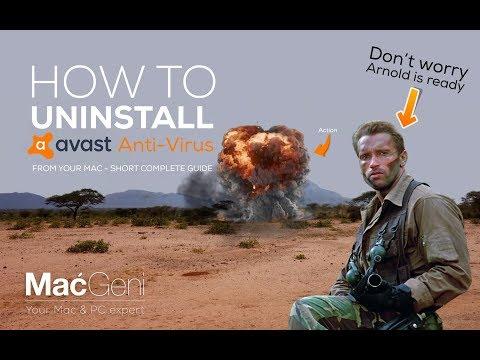 How To Uninstall Avast Anti-virus From Mac - Guide