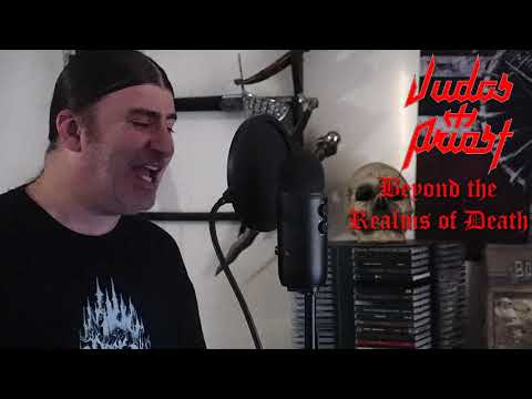 "Judas Priest "" Beyond the Realms of Death "" ( vocal cover )"